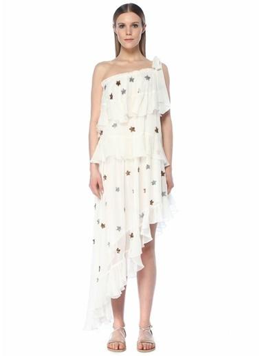 Rococo Sand Plaj Elbisesi Beyaz
